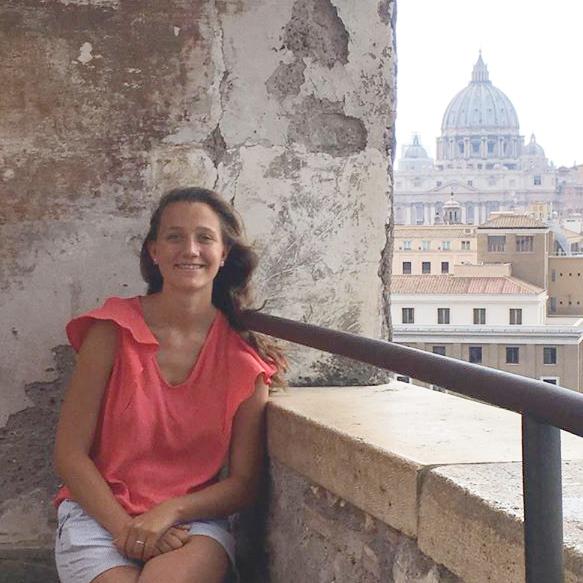 Madeleine Verdier représente la jeunesse en France auprès du Pape François