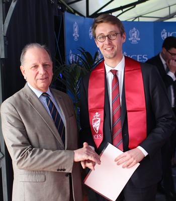 Les masters à l'ICES : remise des diplôme 2019
