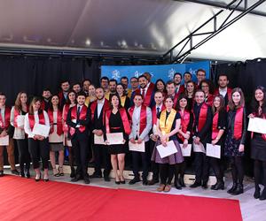 Remise de diplôme de masters à l'ICES : promotion 2019