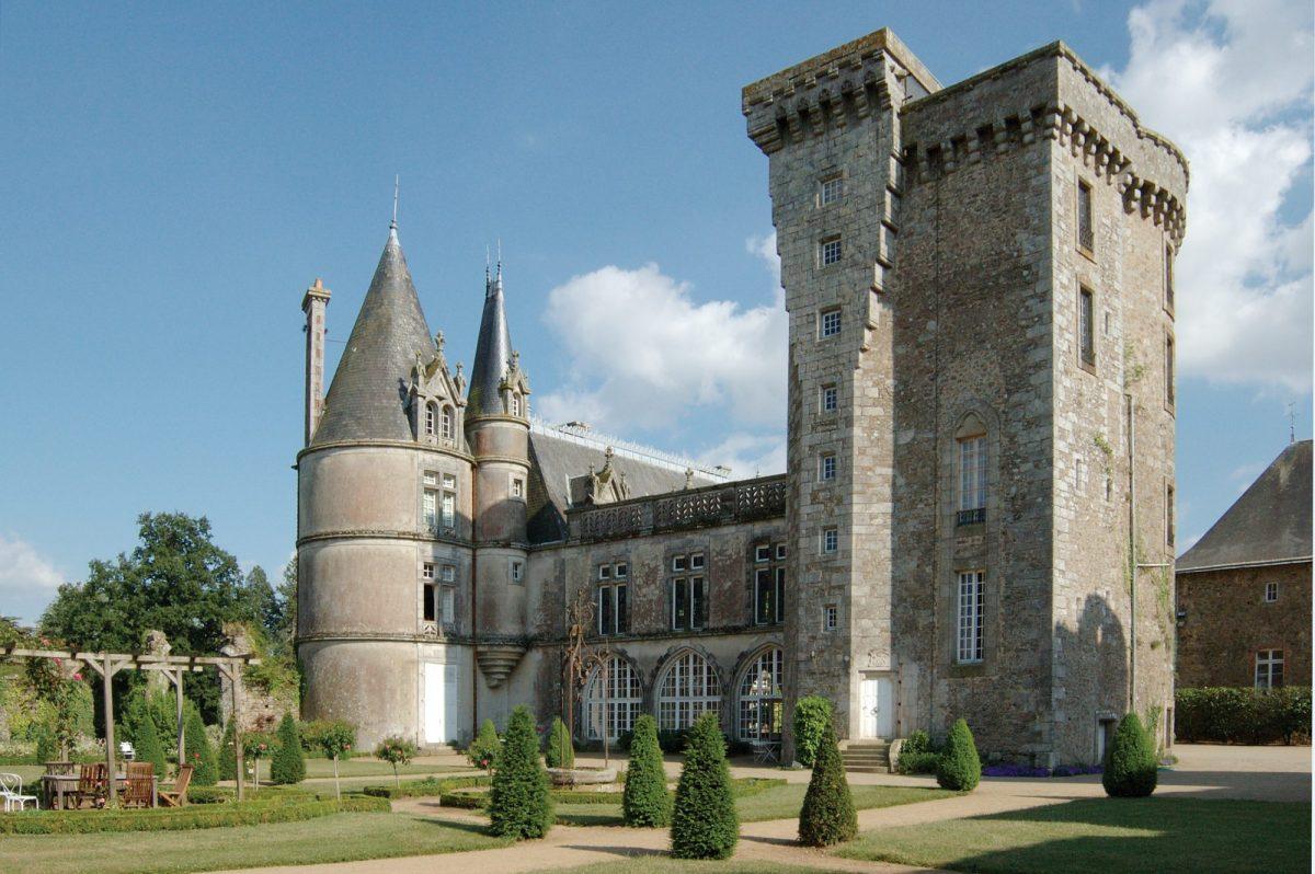 Le château de la Flocellière en Vendée