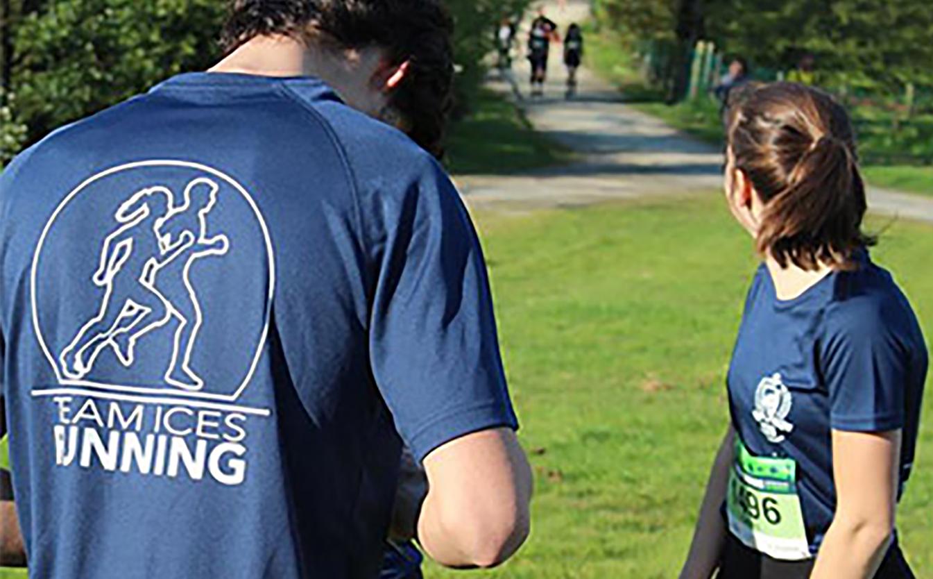 La Team ICES Running en plein défi Sport - Confinement