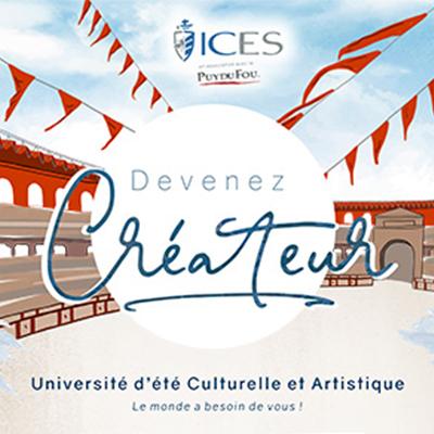 Devenez Créateur, l'université d'été 2020 de l'ICES