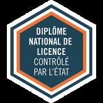 Label Diplôme national de licence contrôlé par létat