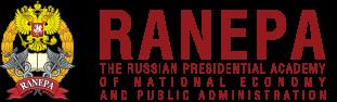 logo de l'Académie Russe d'Économie Nationale et d'Administration Publique auprès du Président de la Fédération de Russie