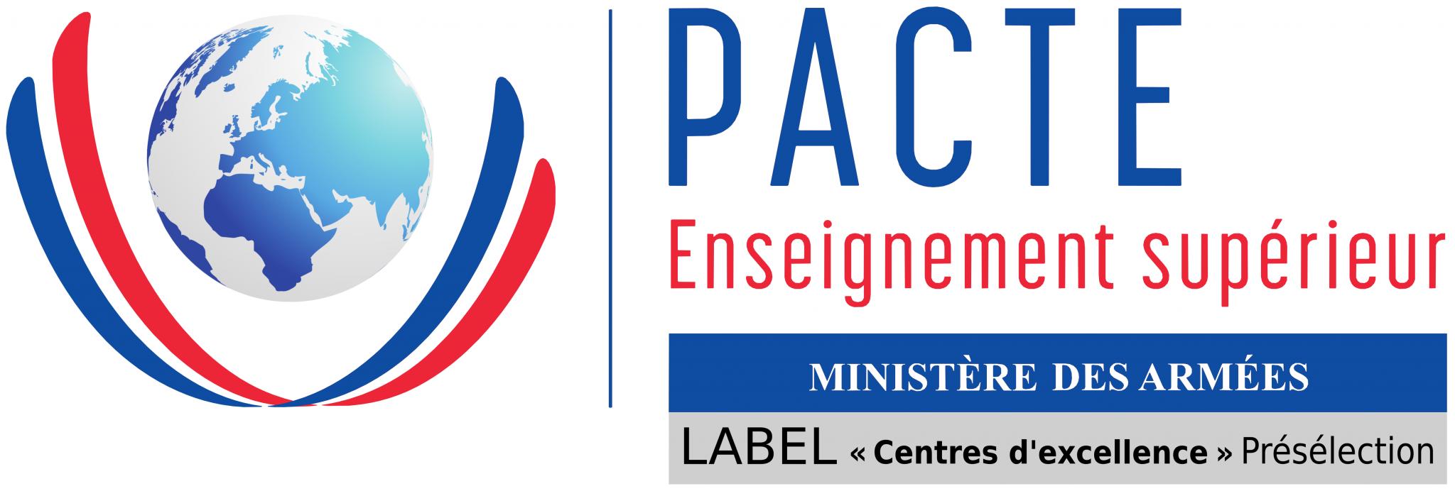 Logo de la PACTE Enseignement supérieur