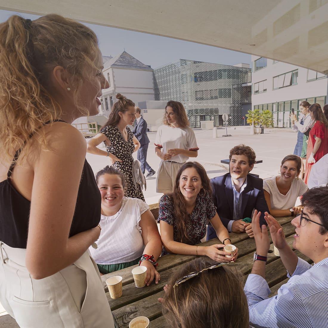 ICES : option formation à l'entrepreneuriat pour tous les étudiants en licence