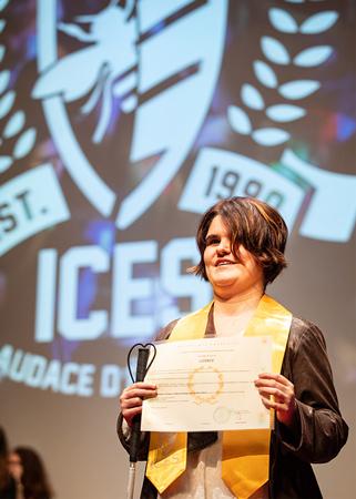 Prendre contact rapidement avec le référent handicap de l'ICES permet à tous les étudiants en situation de handicap de bénéficier d'un accompagnement personnalisé