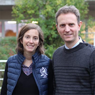 Le couple Barbotin dirige les foyers étudiants de l'ICES et accompagne les étudiants dans leur vie intellectuelle, spirituelle et humaine