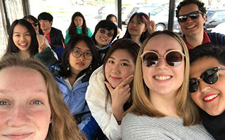 Les étudiants étrangers et les Icessiens visite la Vendée grâce à l'association Globo