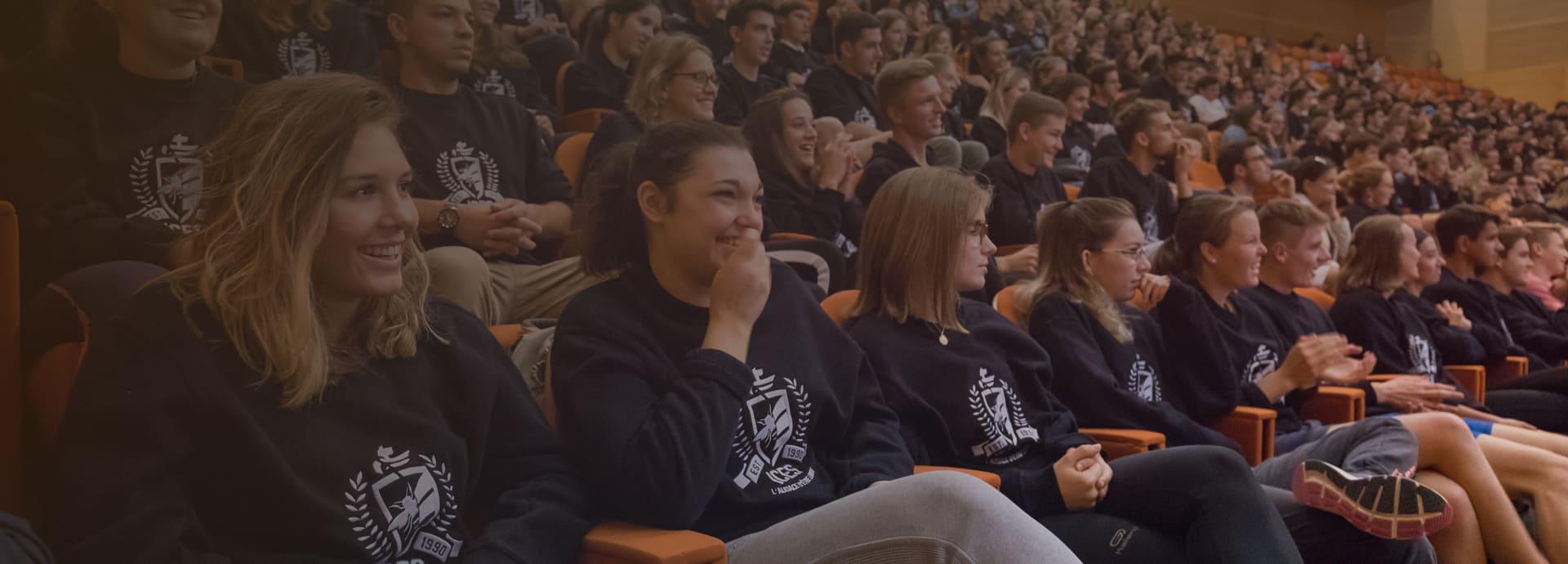 L'ICES instruit et fait grandir les étudiants à travers des valeurs fortes