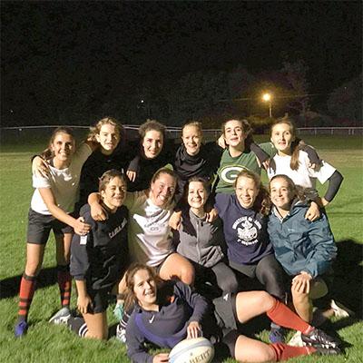 L'équipe Blues Bees : rugby féminin à l'ICES