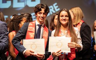 Vous avez obtenu votre diplôme à l'ICES : félicitations !