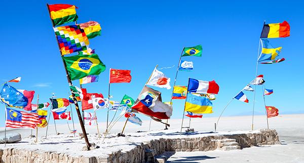 100 universités partenaires à travers le monde, sur tous les continents