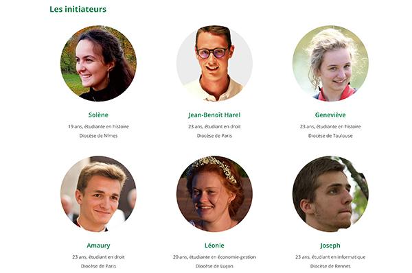 """Les anciens de l'ICES initiateurs de la pétition """"Pour la messe"""""""