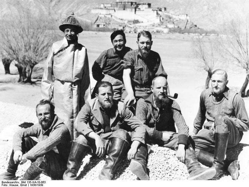 Expédition SS au Tibet 1938-1939, sujet de mémoire du master de Charlie Caron