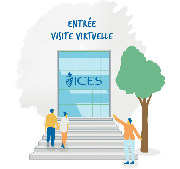 Visite virtuelle de l'ICES, institut catholique de Vendée