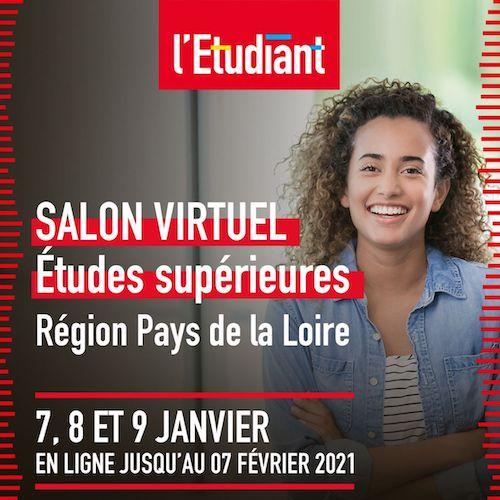 Salon virtuel L'Étudiant - 7, 8 et 9 janvier 2021
