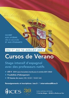 Stage d'été Espagnol - Cursos de Verano 2021