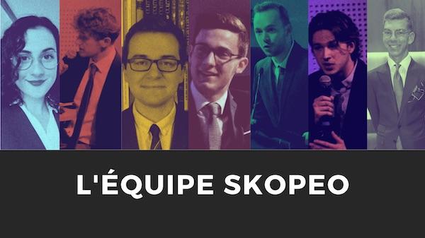 L'équipe de Skopeo, Think-tanh d'anciens étudiants de l'ICES