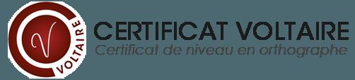 Logo du Certificat Voltaire