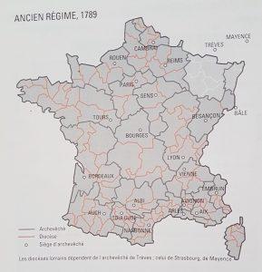 Divisions religieuses de l'Ancien Régime
