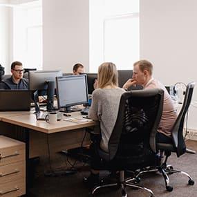 L'équipe du Pôle Entreprises de l'ICES est l'interlocuteur privilégié des entreprises