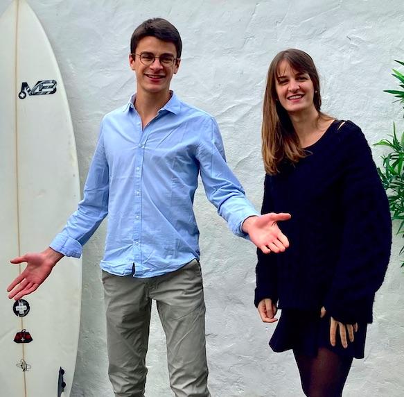 Henri et Jeanne Barraya présentent l'application Alowaa