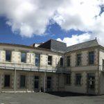 Futur patio du bâtiment Saint Benoît