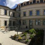 Cour d'honneur du bâtiment Saint Benoît