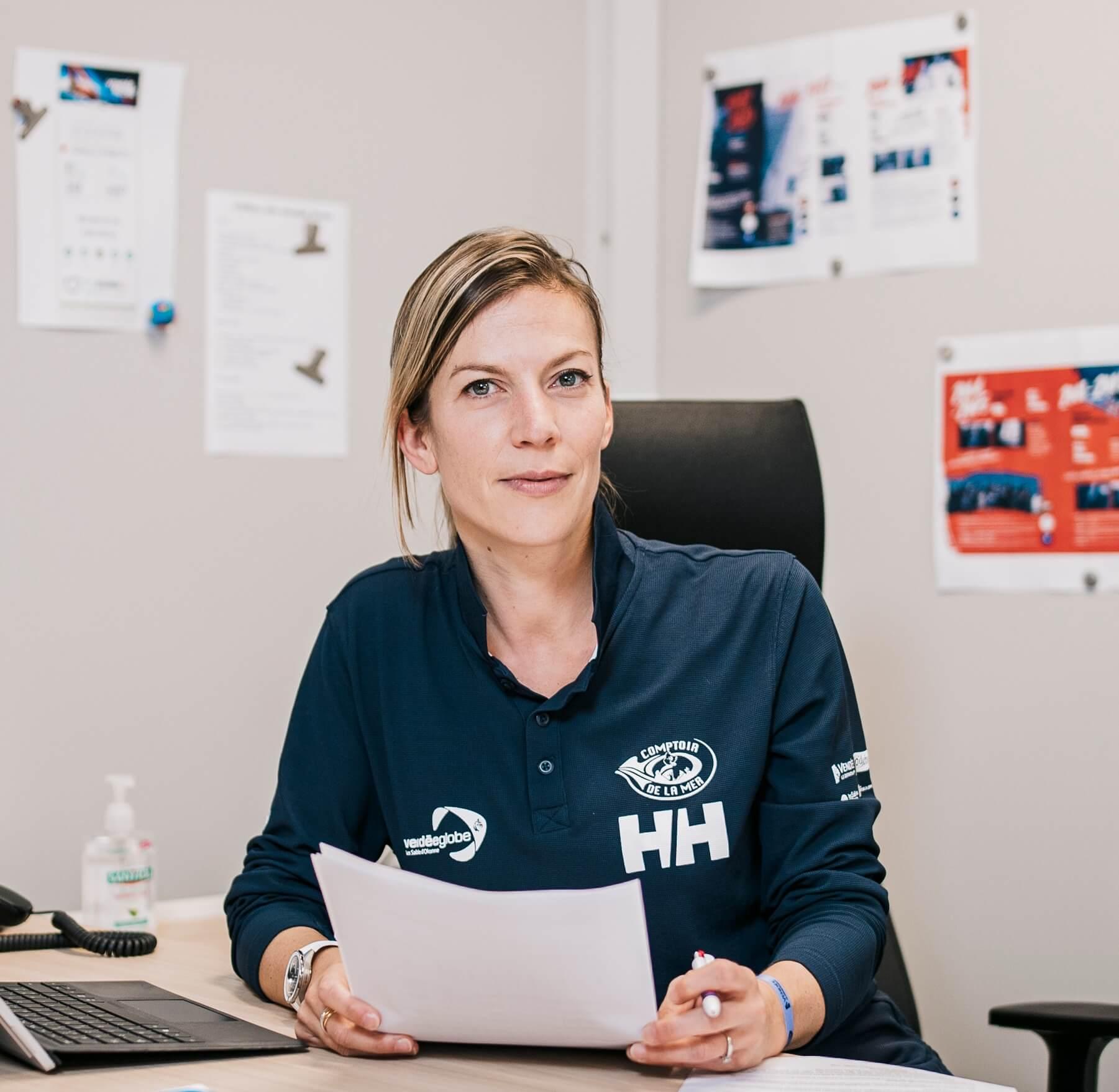 Laura Le Goff, directrice générale du Vendée Globe depuis 2016