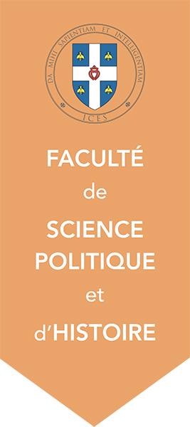 Bannière de la Faculté de Science politique et d'histoire
