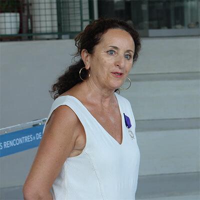 Remise des palmes académiques à Brigitte Bartert
