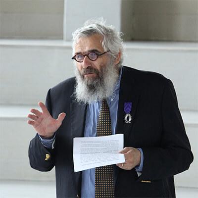 Remise des palmes académiques à Jean-Pierre Deschodt